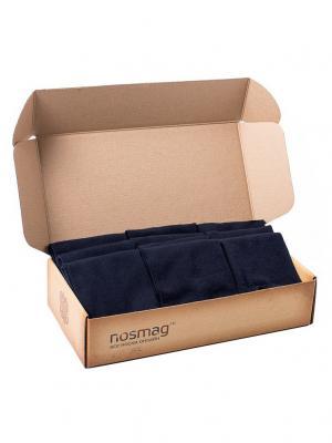 Набор темно-синих носков Спорт с сургучной печатью, 10 пар NosMag. Цвет: темно-синий