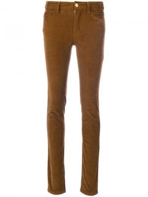 Вельветовые брюки Velvet Eva Zadig & Voltaire. Цвет: коричневый