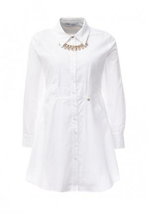 Платье Rinascimento. Цвет: белый