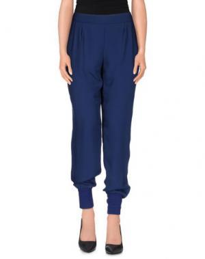 Повседневные брюки FALCON & BLOOM. Цвет: синий