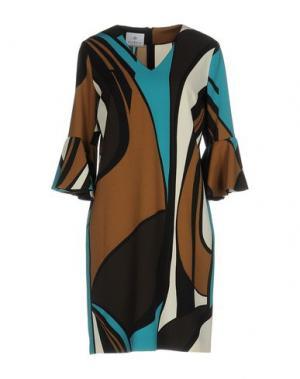 Короткое платье PIU' &. Цвет: цвет морской волны