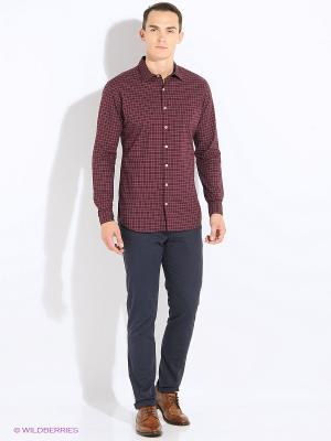 Рубашка ETHAN MANGO MAN. Цвет: темно-красный