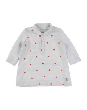Платье IMPS&ELFS. Цвет: светло-серый