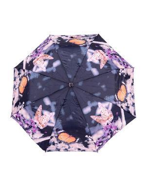 Зонт NUAGES. Цвет: черный, серый, сиреневый