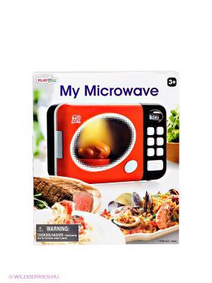 Игровая микроволновая печь PlayGo. Цвет: красный, черный