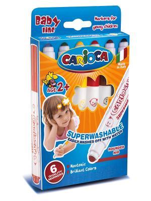 Набор фломастеров суперсмываемых для детей от 2 лет, 6 цв Universal. Цвет: синий