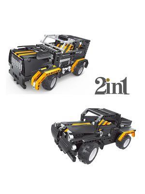 Конструктор электромеханический Black Hums 509 эл. (пульт, аккумулятор, зарядка в комплекте) QIHUI. Цвет: серый, белый, желтый