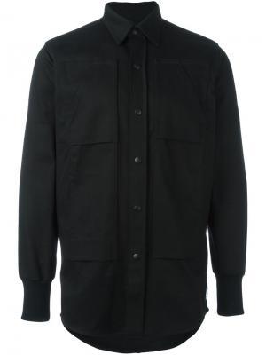 Многослойная куртка Liam Hodges. Цвет: чёрный