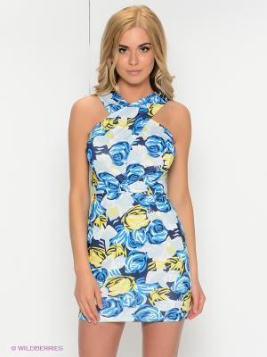 Платье Kira Plastinina. Цвет: синий