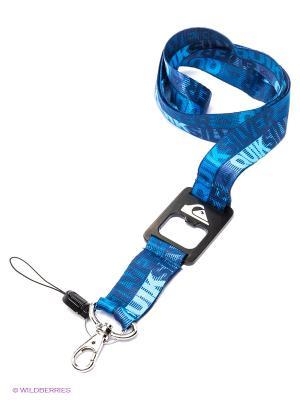 Брелок Quiksilver. Цвет: голубой