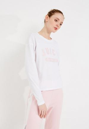 Лонгслив Juicy by Couture. Цвет: белый