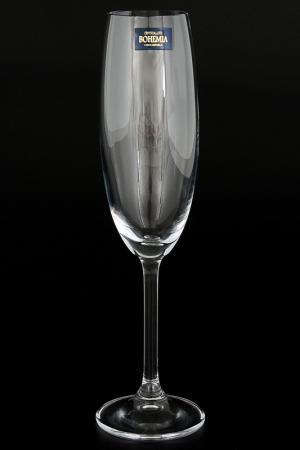 Фужеры для шампанского 220 мл Crystalite Bohemia. Цвет: прозрачный