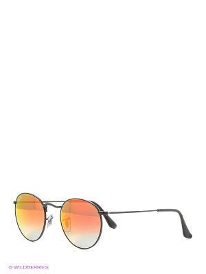 Очки солнцезащитные ROUND METAL Ray Ban. Цвет: черный, красный, белый