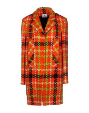 Пальто PIU' &. Цвет: оранжевый