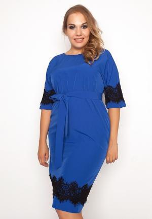 Платье Eliseeva Olesya. Цвет: синий