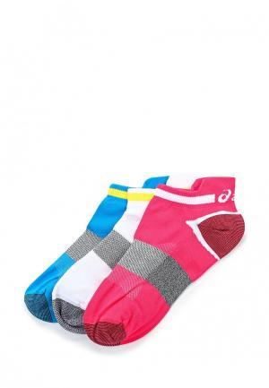 Комплект носков 3 пары ASICS. Цвет: разноцветный