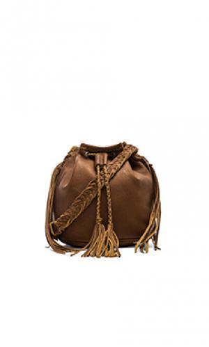Сумка-мешок quixote STELA 9. Цвет: коричневый