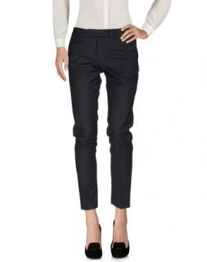Повседневные брюки NORA BARTH. Цвет: темно-синий