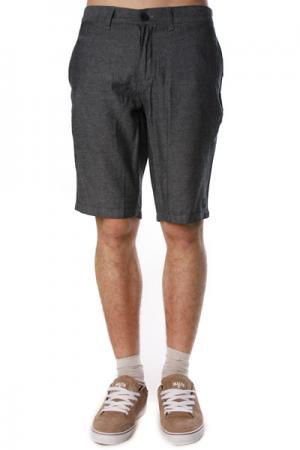 Классические мужские шорты  Milton Short Grey Ezekiel. Цвет: серый