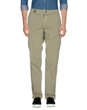 Повседневные брюки MASON'S. Цвет: зеленый