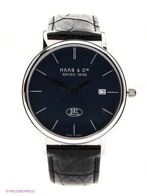 Часы наручные HAAS & Cie SBBH 012 ZUA. Цвет: серебристый, черный
