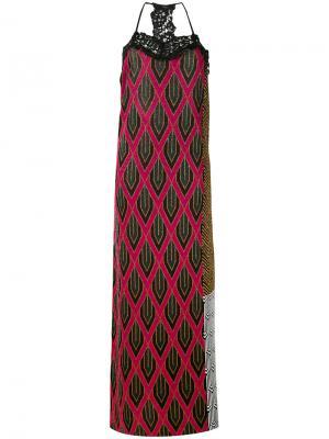 Платье Rubin Circus Hotel. Цвет: розовый и фиолетовый