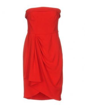 Короткое платье GAI MATTIOLO. Цвет: красный