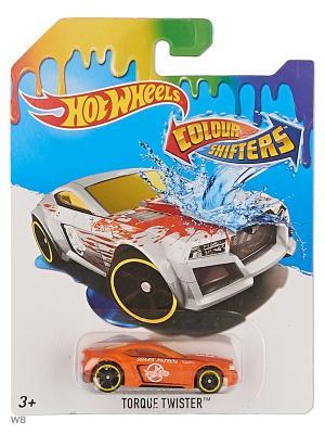 Машинка, изменяющая цвет Hot Wheels. Цвет: оранжевый, белый