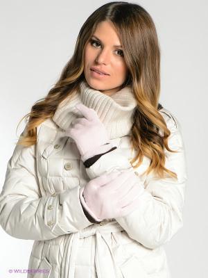 Перчатки Milana Style. Цвет: бледно-розовый, темно-коричневый