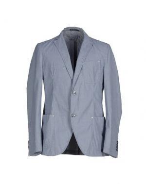 Пиджак CALVARESI. Цвет: грифельно-синий