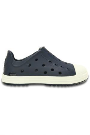 Ботинки Crocs. Цвет: синий, белый