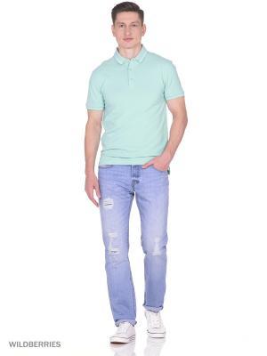 Джинсы RJ. Цвет: серо-голубой