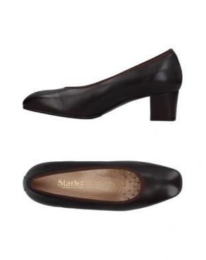 Туфли STARLET. Цвет: темно-коричневый