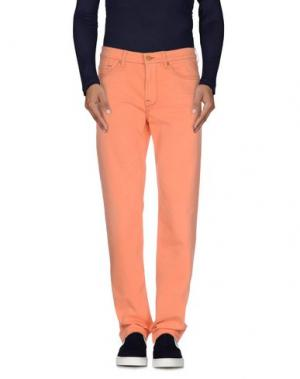 Джинсовые брюки 7 FOR ALL MANKIND. Цвет: оранжевый
