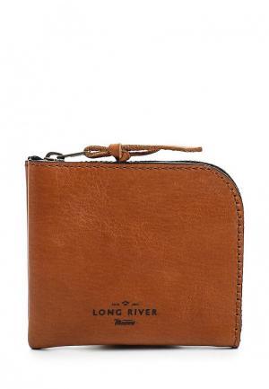 Кошелек Long River. Цвет: оранжевый