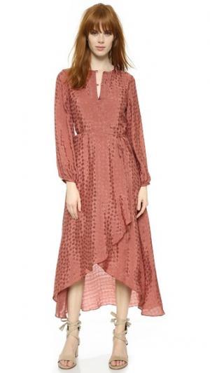 Платье Regina Rodebjer. Цвет: бронзово-коричневый