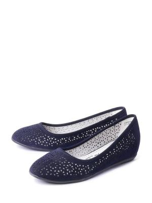 Туфли BETSY. Цвет: синий