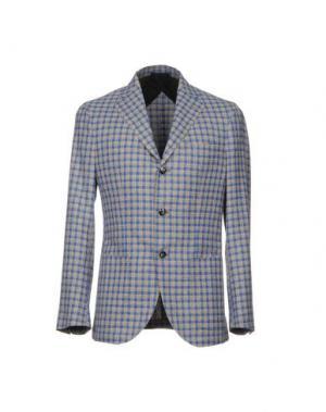 Пиджак BARBA Napoli. Цвет: синий