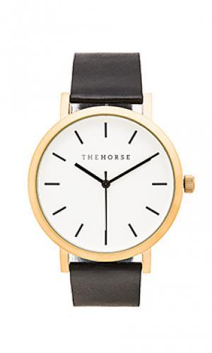 Часы original The Horse. Цвет: черный