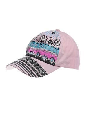 Бейсболка Migura. Цвет: розовый, черный
