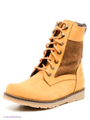 Ботинки Best Walk. Цвет: желтый