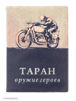Обложка на автодокументы Таран Kawaii Factory. Цвет: черный, бежевый