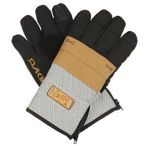 Перчатки  Omega Glove Union Dakine. Цвет: бежевый,черный