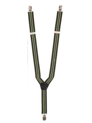 Подтяжки Favorit azur. Цвет: зеленый, коричневый