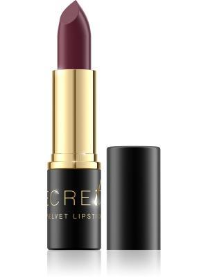 Bell Помада Для Губ Стойкая Матовая Secretale Velvet Lipstick Тон 06. Цвет: темно-красный