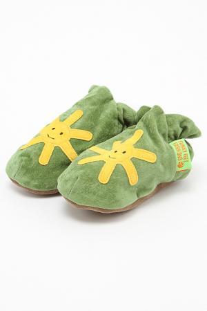 Туфли домашние Funky Feet Fashions™. Цвет: зеленый