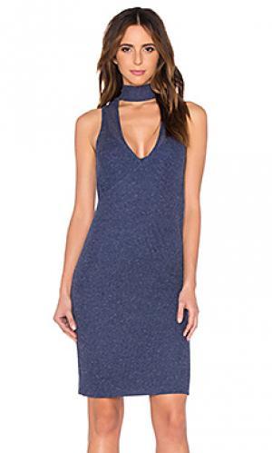 Платье sabrina VIVIAN CHAN. Цвет: синий