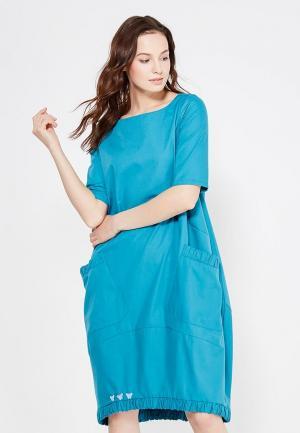Платье Adzhedo. Цвет: бирюзовый