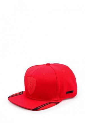Бейсболка Puma. Цвет: красный