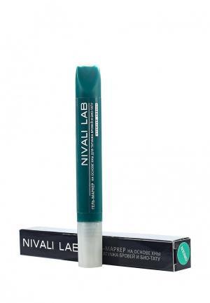 Гель для бровей Nivali. Цвет: зеленый